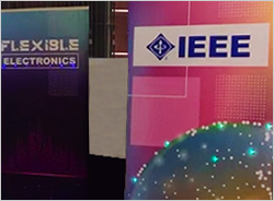 CAPTIVA Innovations Produces Extra Large Flexible Printed Electronic LED Wall Banner for IEEE International Flexible Electronics Technology Conference (IFETC)